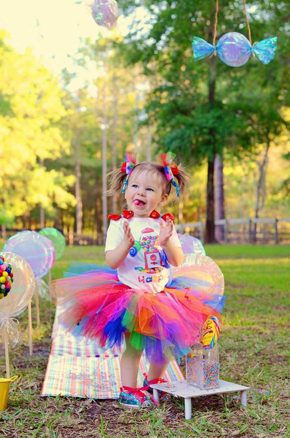 Candy Land tutu Set