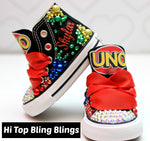 Load image into Gallery viewer, Girls Converse shoes- Girls Converse-Girls Bling Shoes-Bling Converse-Custom