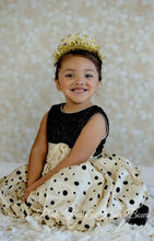 Holiday Diva Couture Polka dot Dress-Ready to ship