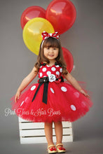 Red Minnie Mouse Tutu dress-Minnie Mouse costume-Red Minnie mouse dress