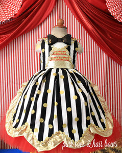 Circus dress-Ringmaster dress- circus costume-Ring Master costume-circus tutu dress