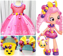 Shopkins dress- shopkins costume-shopkins tutu dress-Bubbleisha costume-Bubbleisha dress