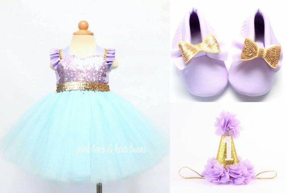 Mermaid Tutu Dress- mermaid dress- mermaid costume -mermaid Tutu-mermaid birthday dress-mermaid