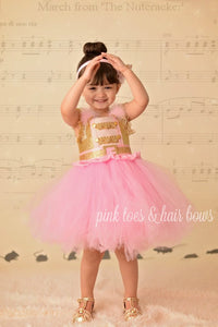 Ballerina tutu dress-Nutcracker tutu dress