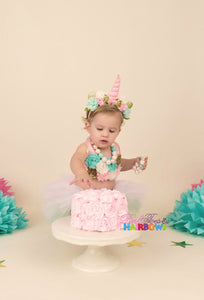 Unicorn outfit-unicorn tutu set-unicorn cake smash-unicorn dress