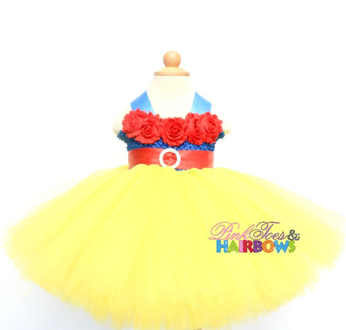 Snow White Dress-Snow white tutu dress- Snow white Costume -Snow white Tutu-snow white outfit