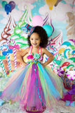 Candyland tutu dress-Candy land tutu dress- candy land party birthday dress