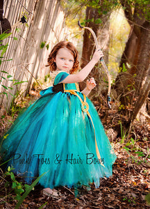 Merida The Brave Tutu dress- Merida the brave dress- Merida the brave dress-merida the brave costume