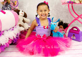 Doc Mcstuffins Dress- Doc Mcstuffins Tutu Dress- Doc Mcstuffins tutu- Doc Mcstuffins Birthday Dress