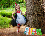 Cat in the Hat Tutu dress- Cat in the Hat tulle dress- Cat in the Hat dress- Cat in the Hat costume