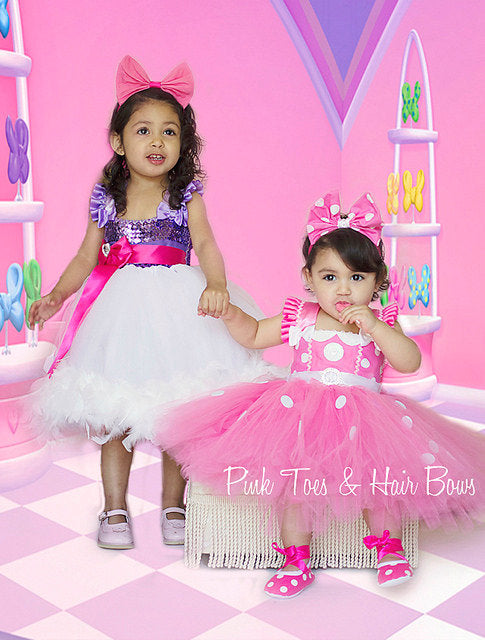 ... Daisy Duck Tutu dress- Daisy Duck tulle dress- Daisy Duck dress- Daisy Duck ...  sc 1 st  Pink Toes u0026 Hair Bows & Daisy Duck Tutu dress- Daisy Duck tulle dress- Daisy Duck dress ...