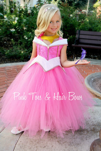 Sleeping Beauty Dress-Sleeping beauty costume