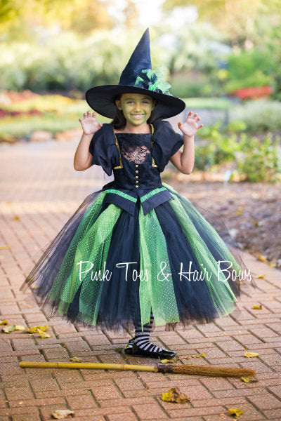 Wicked Witch Tutu dress- Wicked witch Dress-Wicked Witch costume