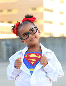 Super girl costume- super girl tutu costume- super man costume dress- superman dress-superman tutu