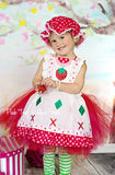 Strawberry Shortcake tutu dress- Strawberry Shortcake- Strawberry Shortcake Costume