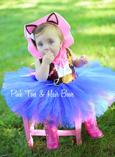 Sheriff Callie Dress- Sheriff Callie costume- Sheriff Callie tutu dress