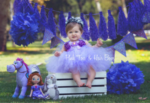 Sofia the First Tutu dress-Sofia the First  tulle dress-Sofia the First  dress-Sofia the First  costume