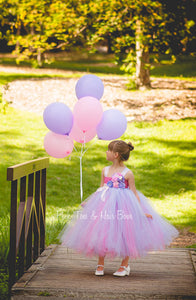 Bella grace Birthday Dress- Pink and Lavender