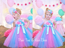 Cotton Candy dress Dress- Pink and blue