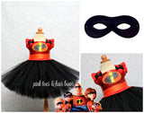 Incredibles Costume- Incredibles Tutu Dress- Incredibles dress