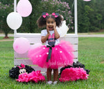 Load image into Gallery viewer, Bling Minnie Mouse tutu Set
