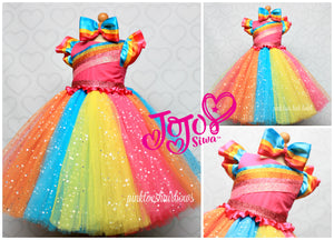 Jojo Siwa Dress-Jojo tutu set-Jojo Siwa outfit-JoJo Siwa tutu dress