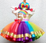 Load image into Gallery viewer, Jojo Siwa tutu set-Jojo Siwa outfit-Jojo Siwa dress