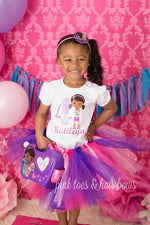 Load image into Gallery viewer, Doc Mcstuffins tutu set