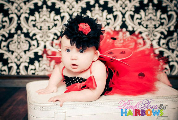 Lady Bug Infant Set