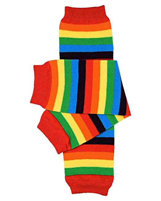 Rainbow Leg warmers- Rainbow brite leg and arm warmers-Made to match dress