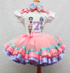 Lol surprise doll tutu set-lol surprise outfit- lol surprise dress