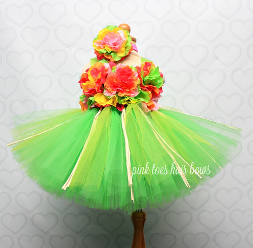 Luau Hawaiian tutu Dress-luau dress-luau costume