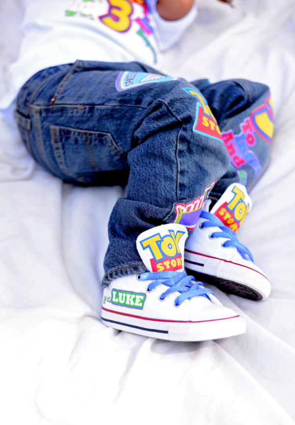Toy story boys outfit - Toy story Denim Set-Boys Toy story boys denim set- toy story Birthday outfit