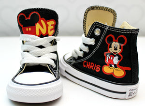 Mickey Mouse shoes-Mickey Mouse Converse-Boys Mickey Mouse Shoes