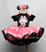 Load image into Gallery viewer, Minnie Mouse Tutu set-Minnie mouse outfit-Minnie mouse dress- Minnie mouse tutu
