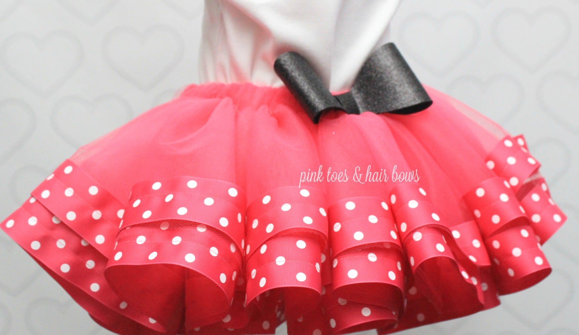 Minnie Mouse Tutu set-Minnie mouse outfit-Minnie mouse dress- Minnie mouse tutu