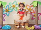 Moana 2 pc tutu set