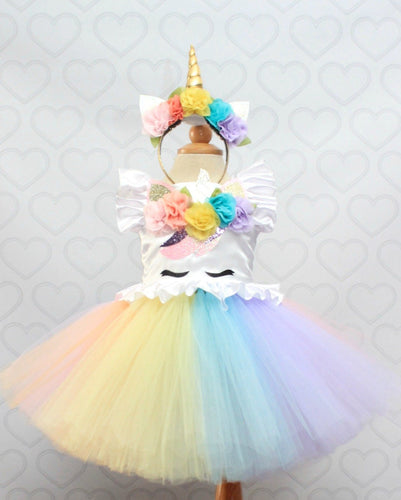 Unicorn dress-unicorn tutu dress-unicorn birthday dress-unicorn tutu-unicorn outfit-Pastel