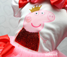 Peppa the Pig tutu set-Peppa the Pig outfit-Peppa the Pig dress