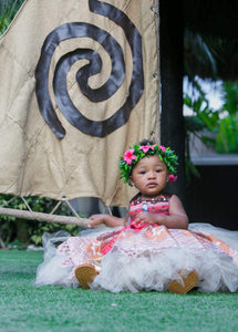 Moana Dress- Moana costume- Moana tutu dress-Moana party-Moana birthday