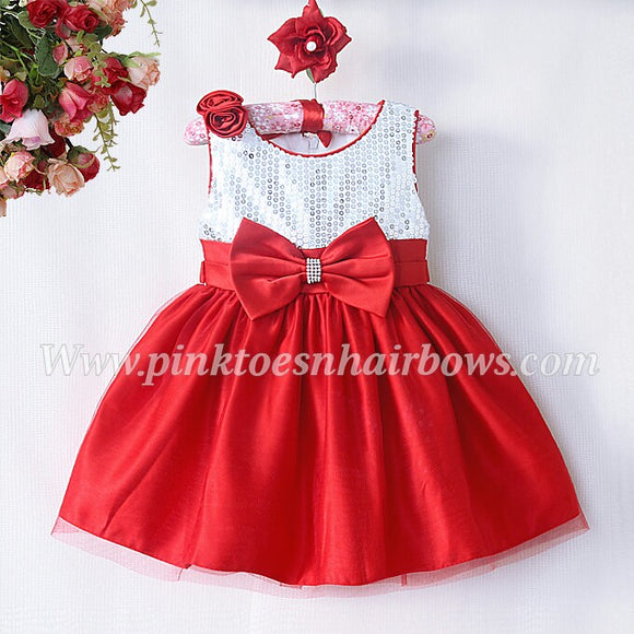 Red Sequin Dress(ready to ship)