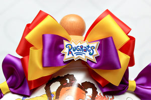 Rugrats tutu set- Rugrats outfit-Rugrats dress-Rugrats birthday(deluxe)