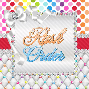 Rush Fee Charge-DO NOT PURCHASE WITHOUT APPROVAL-PLEASE EMAIL US FOR RUSH ORDER APPROVAL PRIOR TO