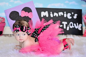 Minnie Mouse Infant Tutu set