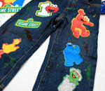 Load image into Gallery viewer, Sesame street Denim Set-Boys Sesame street denim set-Sesame street Birthday outfit-Sesame Street boys outfit