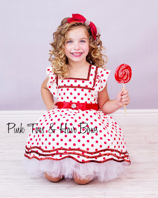 Shirley Temple dress- Shirley temple- Shirley temple Costume-Shirley temple tutu dress