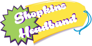 Shopkins Headband add on-Made to match any Shopkin dress(this does not include SHOPPIE HEADBANDS)