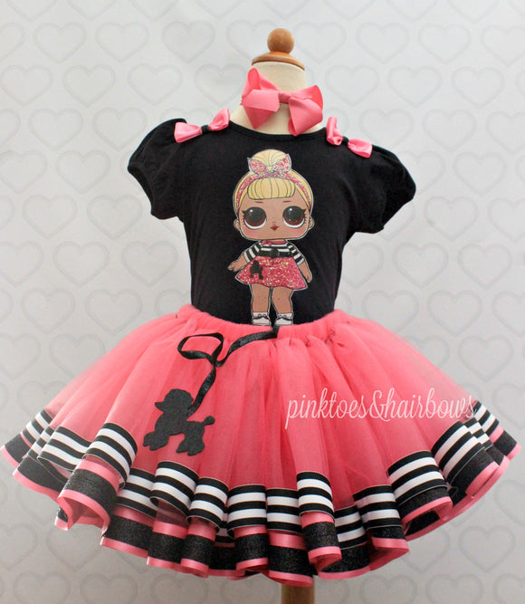 Sis Swing Lol surprise doll tutu set-lol surprise outfit- lol surprise dress