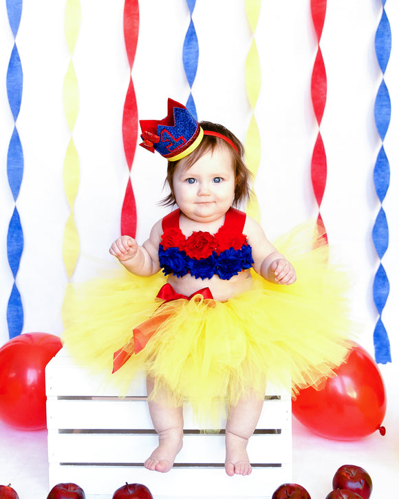 Snow white tutu set-Snow white cake smash Set