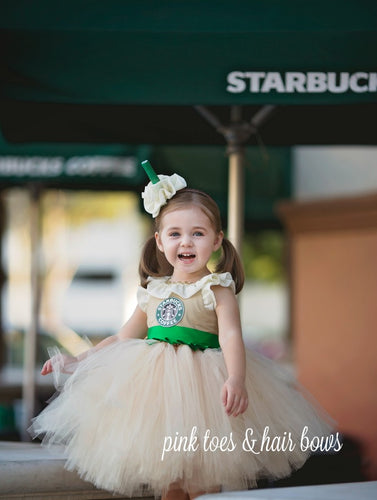 Starbucks Tutu Dress-starbucks costume-starbucks dress